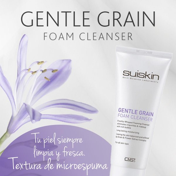 Gentle-Grain-Foam-Cleanser